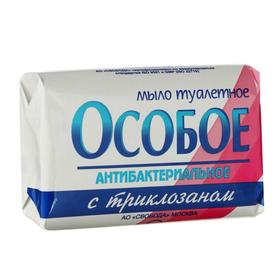 """Мыло антибактериальное с триклозаном """"Особое"""" с растительными маслами и глицерином, 100г"""