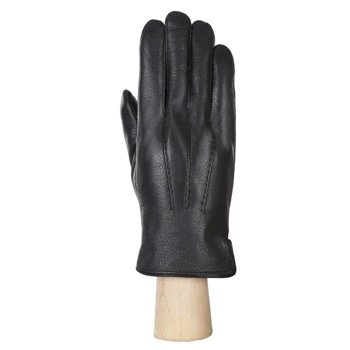 FM7-1f black FABRETTI Перчатки муж. нат. кожа (Размер 10),черный