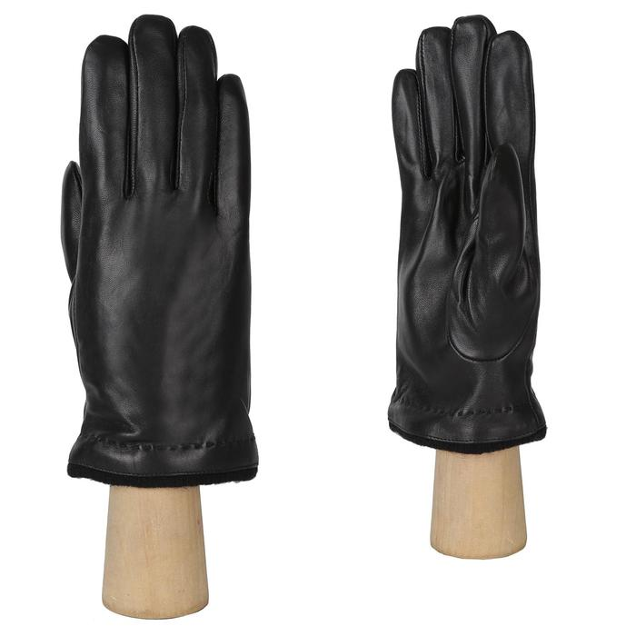 FM29-1 FABRETTI Перчатки муж. нат. кожа (Размер 8),черный