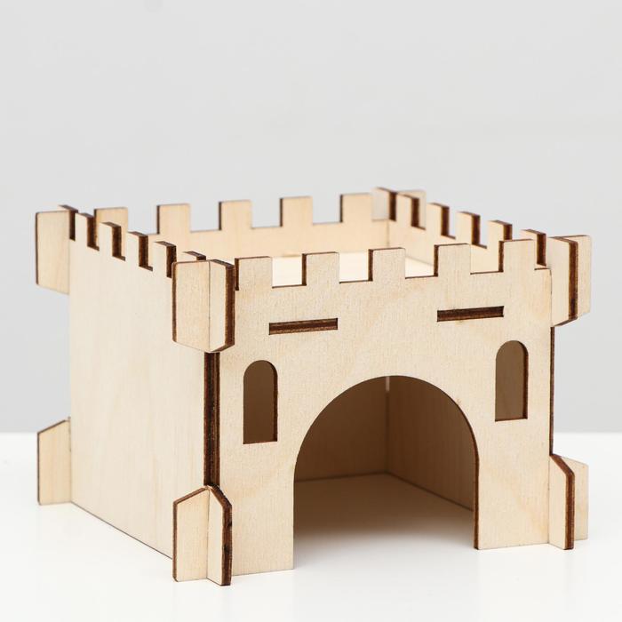 """Домик """"Башня"""" для грызунов 13 х 13 х 9 см"""