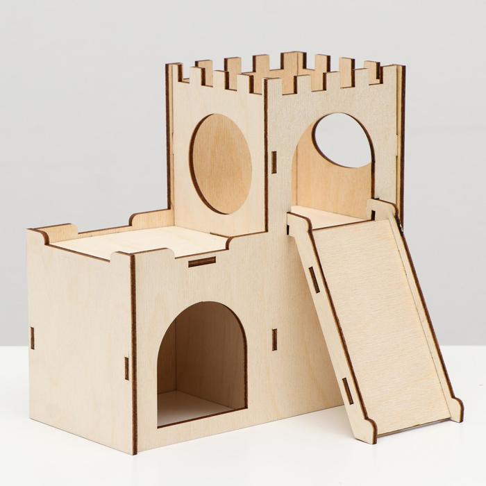 """Домик """"Замок"""" для грызунов 19 х 9 х 17,5 см"""