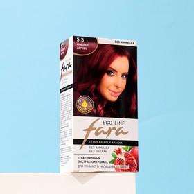 Краска для волос FARA Eco Line 5.5 красное дерево, 125 г