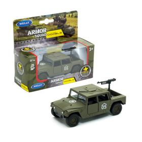 Модель машины «Военный автомобиль с пулемётом»