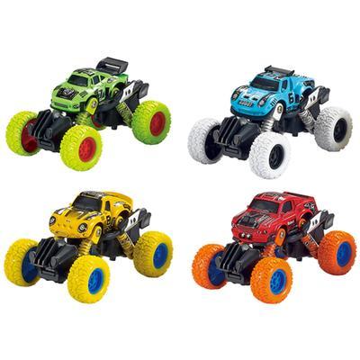 Модель машины «Машинка с большими колёсами», инерционная металлическая, 11 см, МИКС. - Фото 1