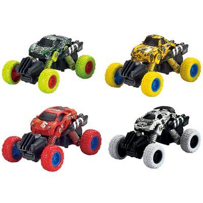 Модель машины «Машинка с большими колёсами», инерционная металлическая, 10 см, МИКС. - Фото 1