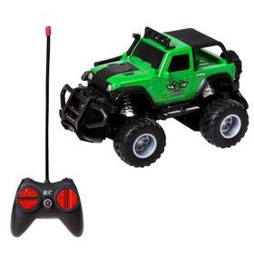 Модель машины «Внедорожник Mini monster car», на радиоуправлении, МИКС.
