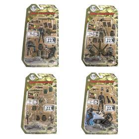 Игровой набор World Peacekeepers «Отряд», масштаб 1:18, 3 фигурки, 4 в ассортименте