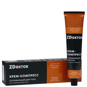 Крем-компресс для тела ZDoktor согревающий, при переохлаждениях, 60 мл