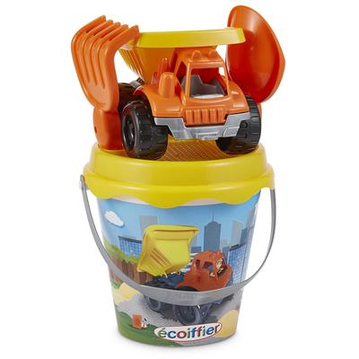 Детский набор для песочницы ведерко с грузовиком с аксессуарами, 17см - Фото 1