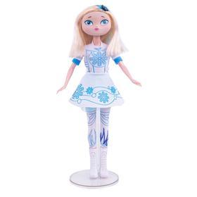 Кукла Сказочный патруль «Раскрась Снежку»