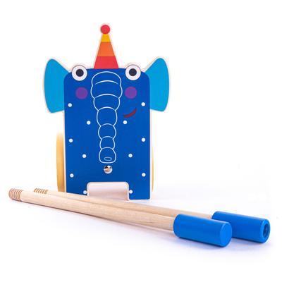 Каталка на палочке «Слон Ду-Ду» - Фото 1