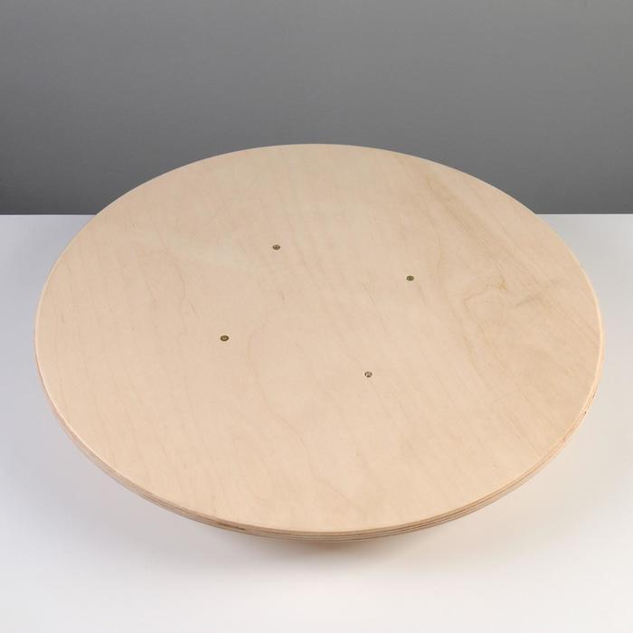Доска балансировочная балансборд, круглая, 47 см