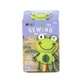 Набор для шитья, насадка на карандаш «Лягушка»