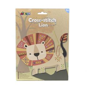 Набор для вышивания крестиком «Лев»