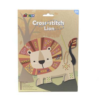 Набор для вышивания крестиком «Лев» - Фото 1