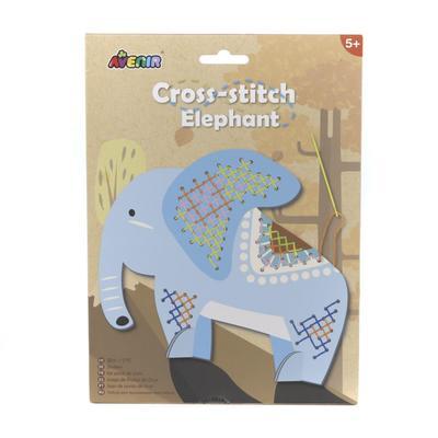 Набор для вышивания крестиком «Слон» - Фото 1