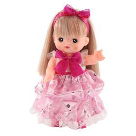 Комплект с бальным платьем для куклы Мелл
