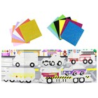 Картина из пиксельной мозаики «Транспорт» - Фото 7