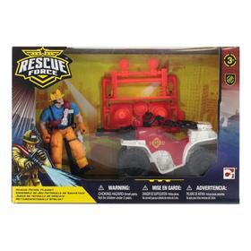 Игровой набор «Спасательный отряд патрульной команды на квадроцикле»