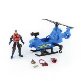Игровой набор «Спасательный отряд патрульной команды на вертолете»
