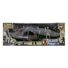 Игровой набор «Десантный вертолет (1 фигура)»