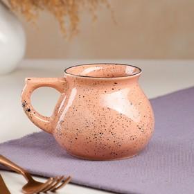 """Чашка """"Чайная"""", мокко, керамика, 0.3 л"""