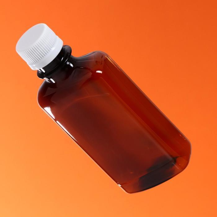 """Бутылка с крышкой """"Фляжка"""", 0,25 л, 28 мм"""