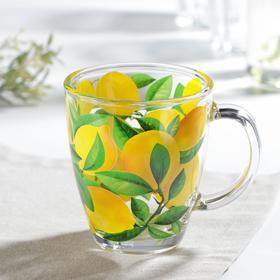 Кружка «Лимоны», 350 мл