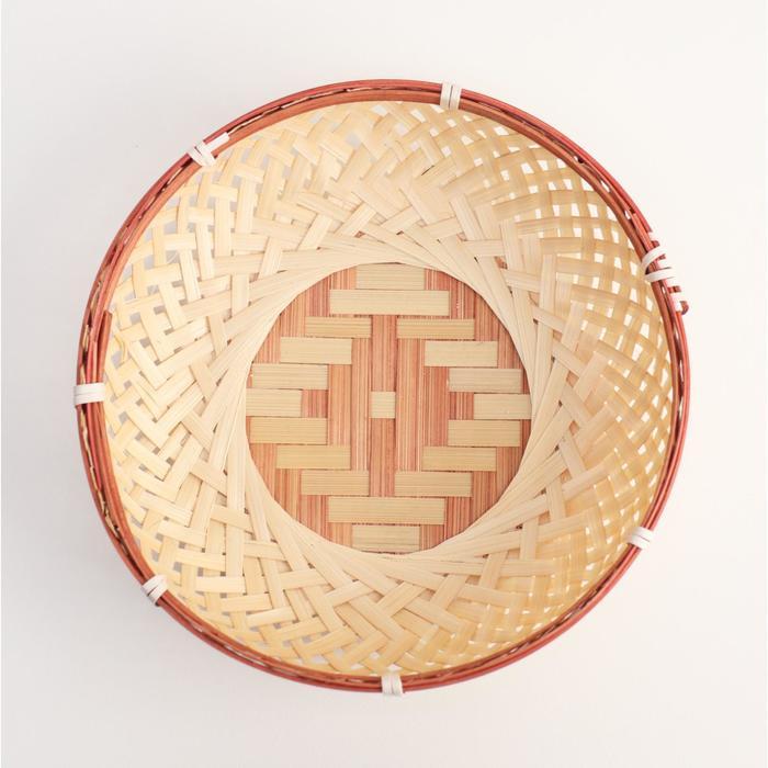 Сухарница «Плетёнка», 19×5,5 см, бамбук