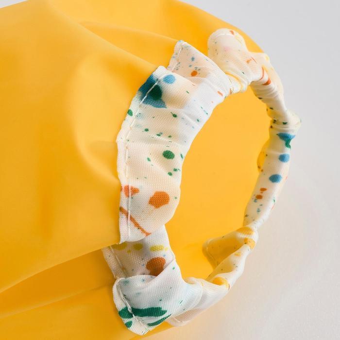 Фартук с длинными рукавами МОЛА, цвет жёлтый
