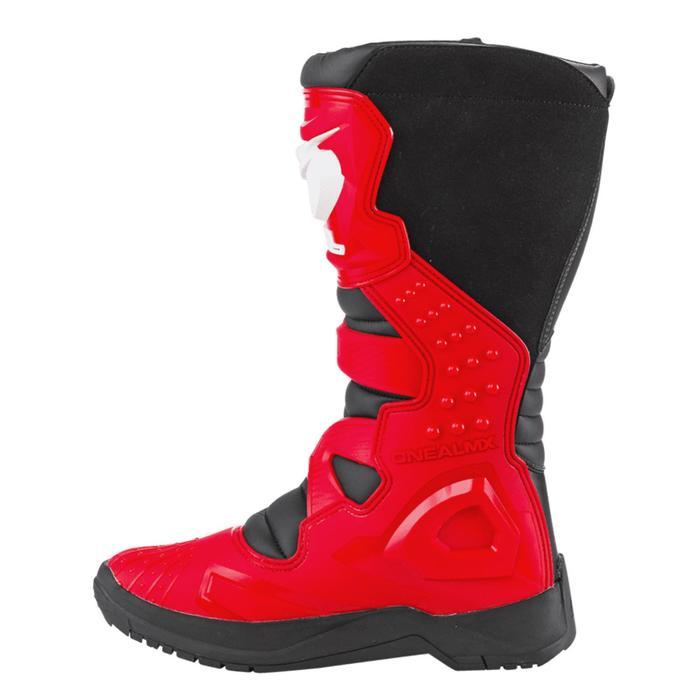 Мотоботы кроссовые, мужские O'NEAL RSX, размер 43, цвет красный/черный