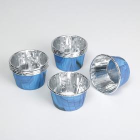 Форма для выпекания «Синий агат», 7 × 4 × 5 см