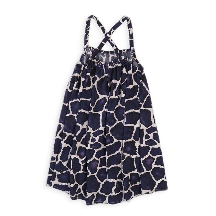 Платье для девочки, размер 12-13 лет, цвет синий-белый