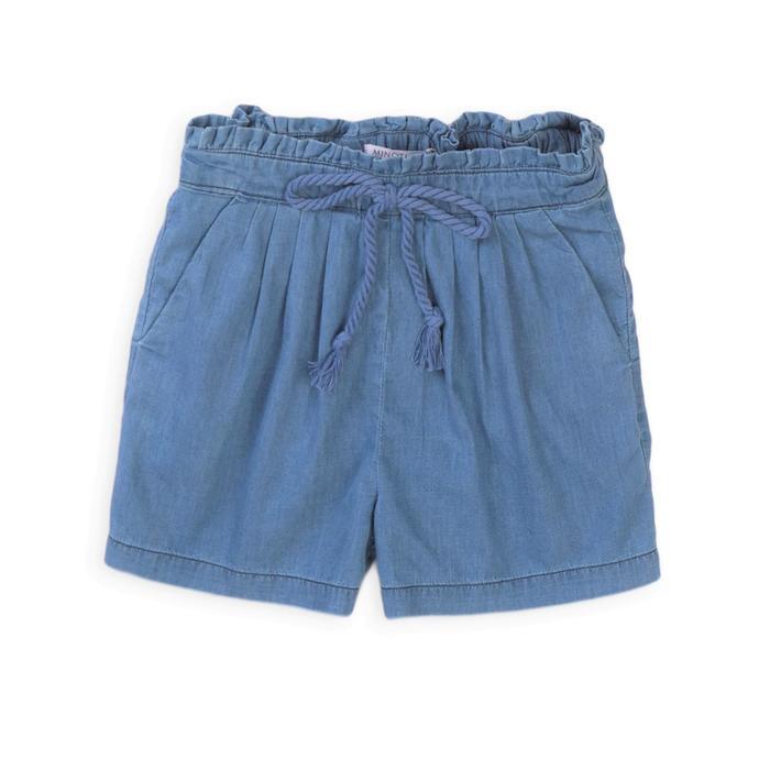Шорты для девочки, размер 11-12 лет, цвет серый