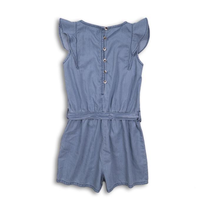 Комбинезон для девочки, размер 9-10 лет, цвет серый