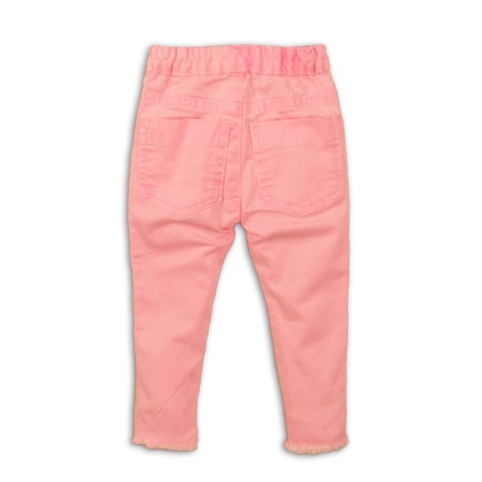Брюки для девочки, размер 3-4 года, цвет розовый