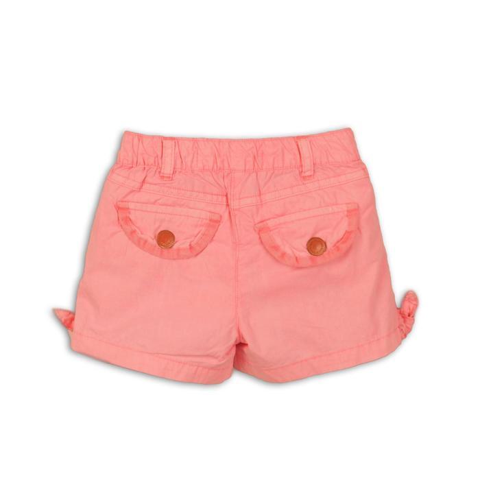 Шорты для девочки, размер 11-12 лет, цвет коралловый