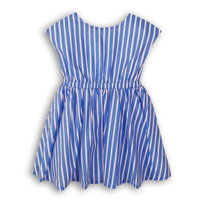 Платье для девочки, размер 4-5 года, принт полосатый