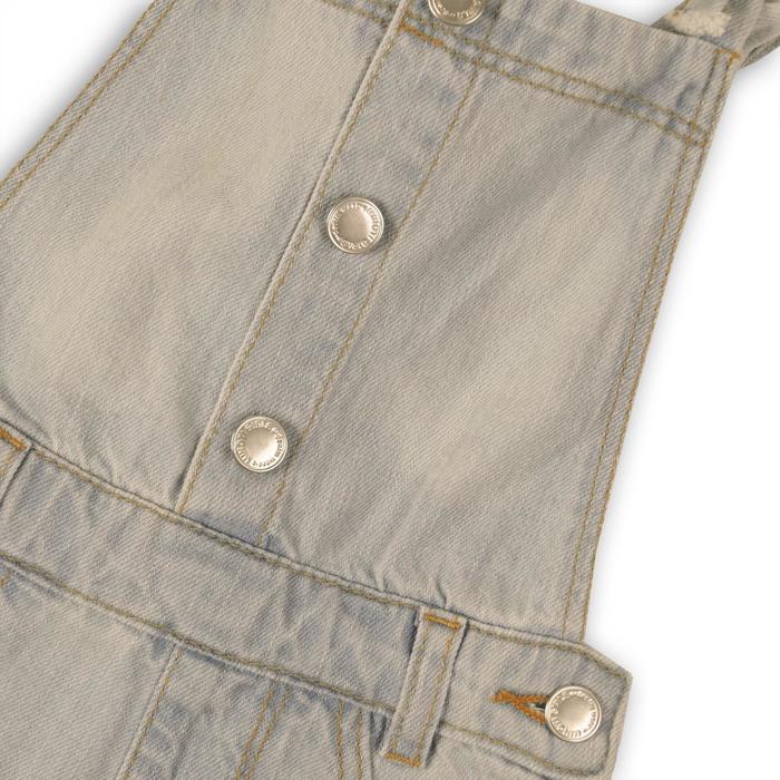 Шорты джинсовые для девочки, размер 4-5 года, цвет светло-синий