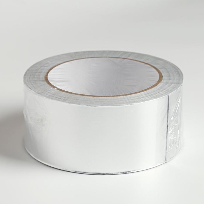 Скотч алюминиевый, 50х0,5 см