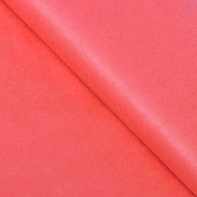 Бумага упаковочная тишью, красная, 50 х 66 см Ош