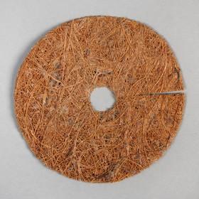 Круг приствольный, d = 11 см, из кокосового полотна с натуральным латексным клеем Ош