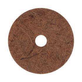 Круг приствольный, d = 20 см, из кокосового полотна с натуральным латексным клеем Ош