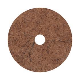 Круг приствольный, d = 25 см, из кокосового полотна с натуральным латексным клеем Ош