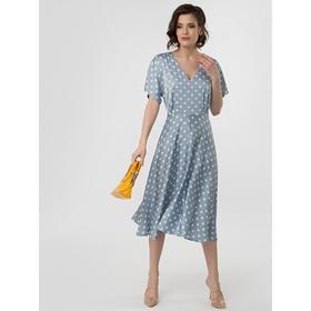 Платье женское, размер 42, цвет голубой
