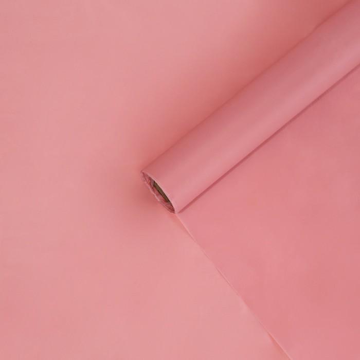 Пленка тишью влагостойкая Нежно-розовый 0,6x8 м 30мкм