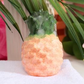 Бомбочка для ванн «Ананас», апельсин, 90 г