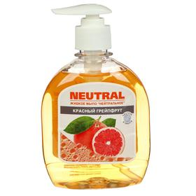 Жидкое мыло нейтральное, грейпфрут, с дозатором,  300 мл