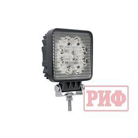 Фара светодиодная рабочего света РИФ 107 мм 27W Ош
