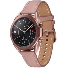 Смарт-часы Samsung Galaxy Watch 3 SM-R850NZDACIS, 1.2', SAmoled, 41 мм, цвет бронзовый Ош